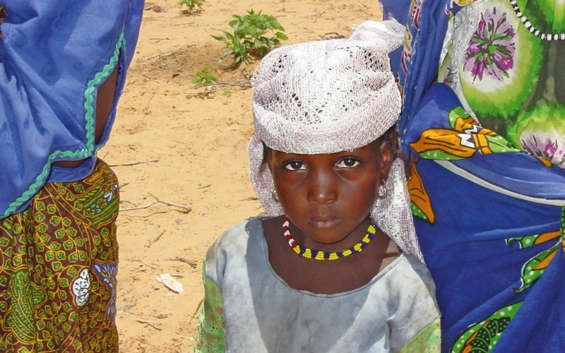 While infants and pre-school children are more susceptible to infection, the painful blinding effects of trachoma may not manifest until adulthood, affecting women three times more than men. NIGER. © John Buchan