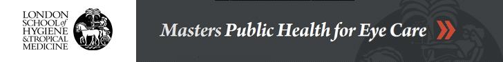MSc Public Health for eye care